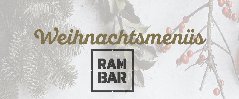 Weihnachtsmenüs RAMBAR