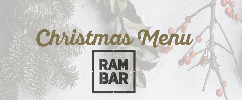 Christmas Menús RAMBAR