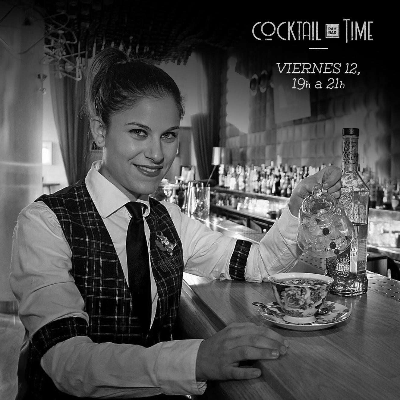 Laura Pelarda le pone un toque asiático a Cocktail Time
