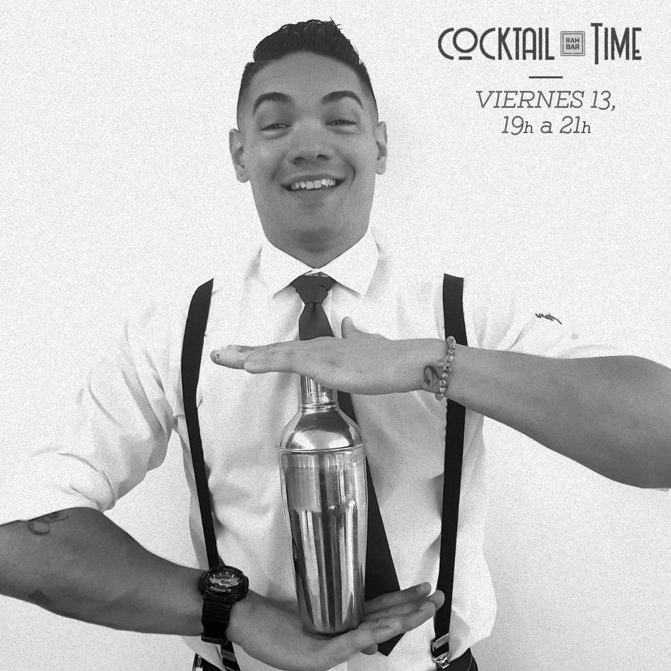 Rodrigo Di Angelo pone ritmo de samba a Cocktail Time