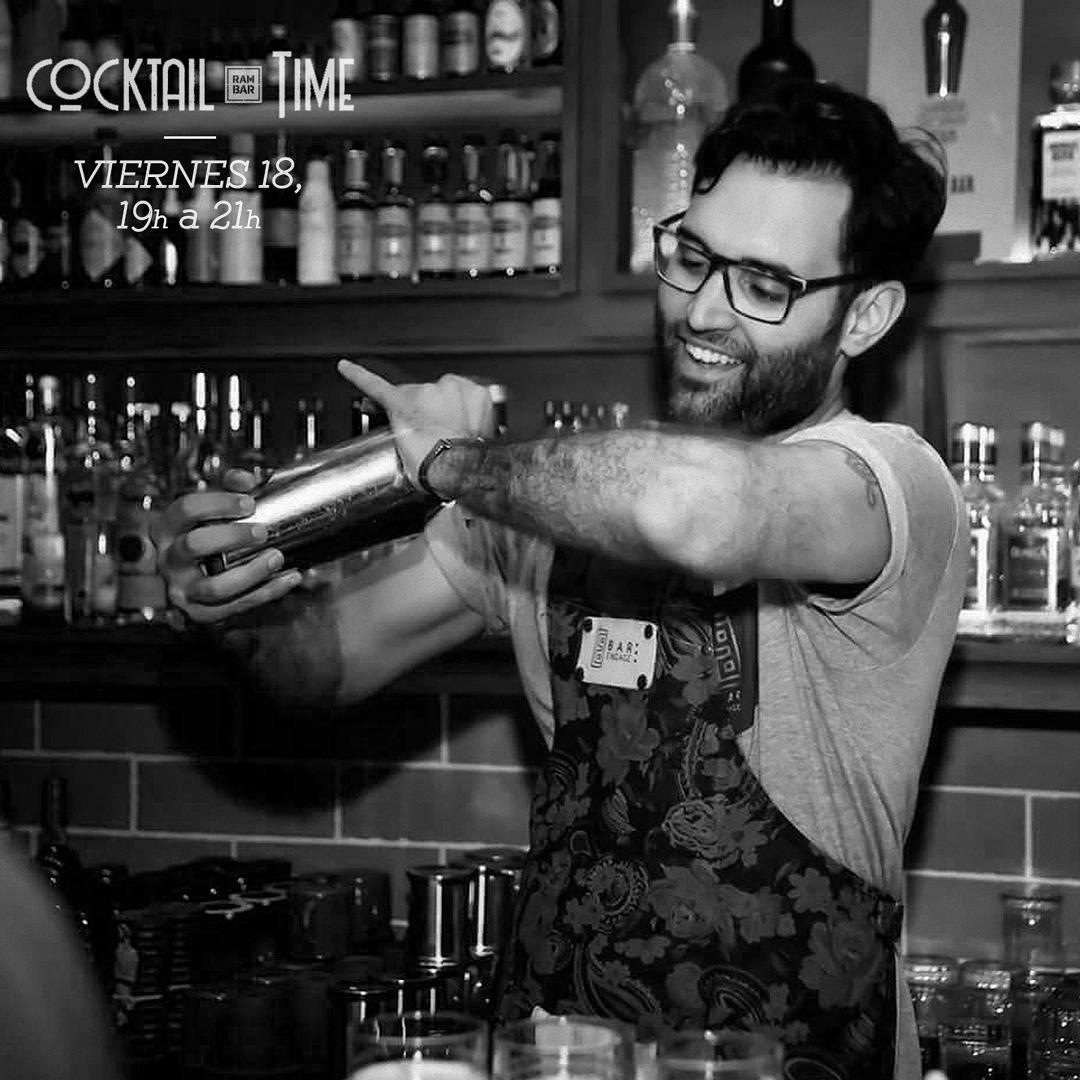 Matías Iriarte le pone sabor mediterráneo al Cocktail Time