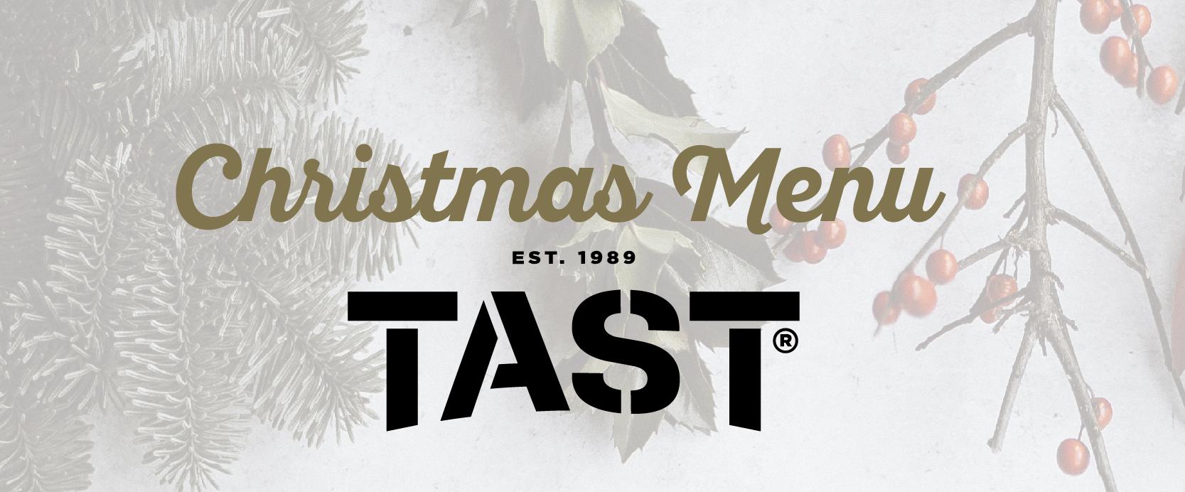 Christmas Menús Tast Avenidas